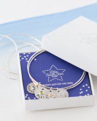 personalised bracelet in box