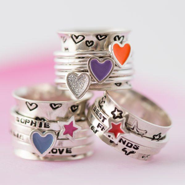 candyfloss spinner ring 0058