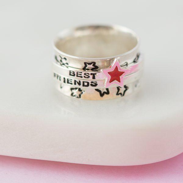 Candyfloss spinner ring 107
