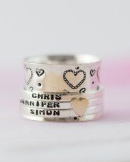 LSS_love heart spinner ring-365
