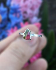chipped tourmaline ring